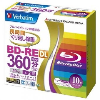 Verbatim BD-RE DL 2X 50GB